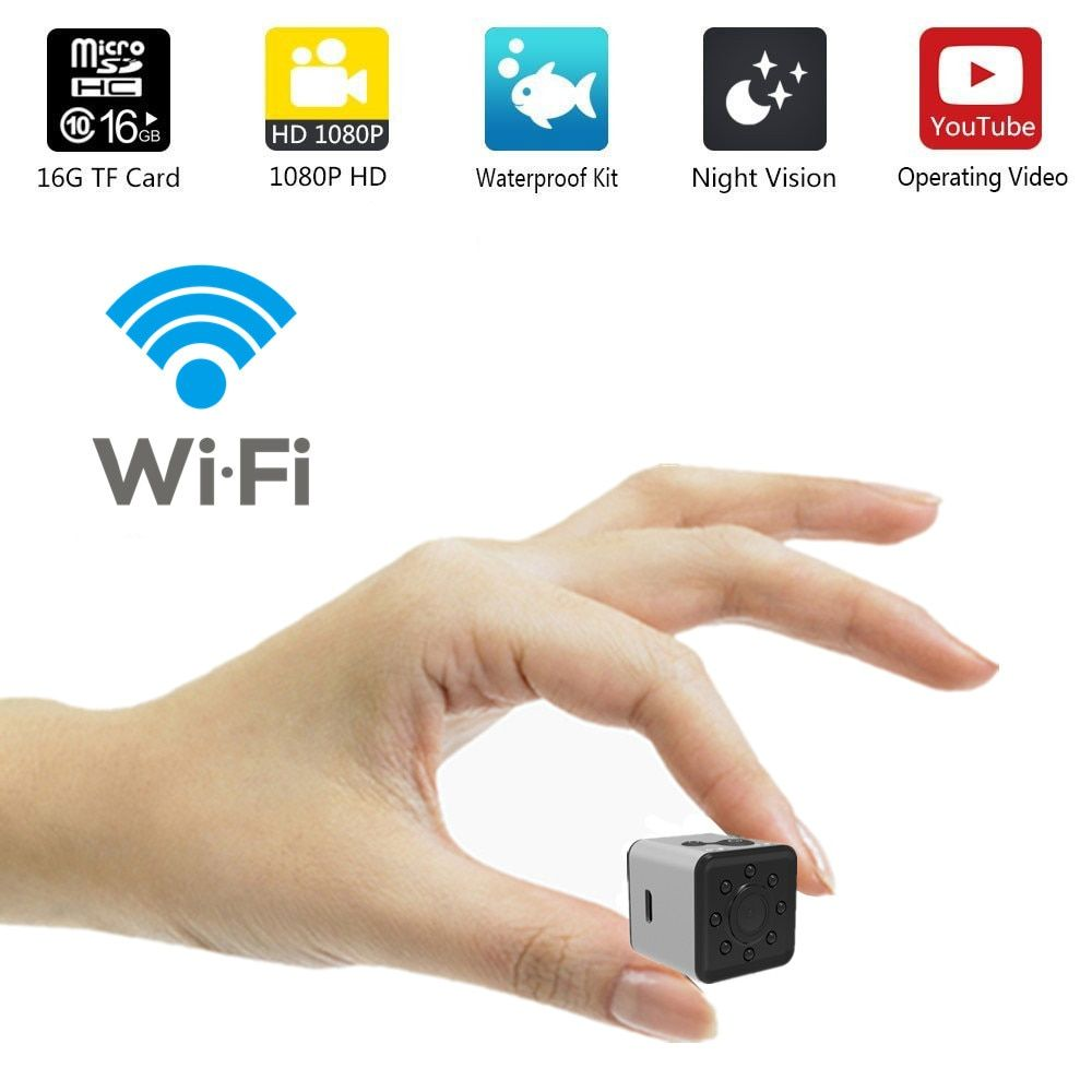 SQ13 HD WIFI small mini Camera cam 1080P video Sensor Night Vision Camcorder Micro Cameras DVR Motion Recorder Camcorder SQ 13