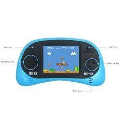 HD Screen 2.5 inch Display Handheld Game Player Video Console Built-in 260 Style Classic Games with AV Cable Support TV Output