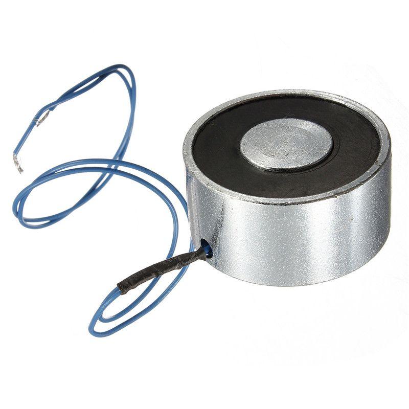Für DC 12 V 25 kg 55LB Elektromagnet Elektrohubmagneten Magnet Fahrstuhl Holding Saug Super