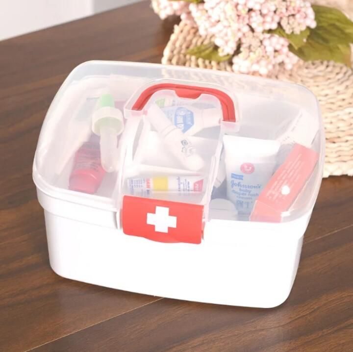 SHB1-SHB20 3M Small Kit Household Plastic Kit First Aid Kit Pharmacy Hospital Poverty Giveaway