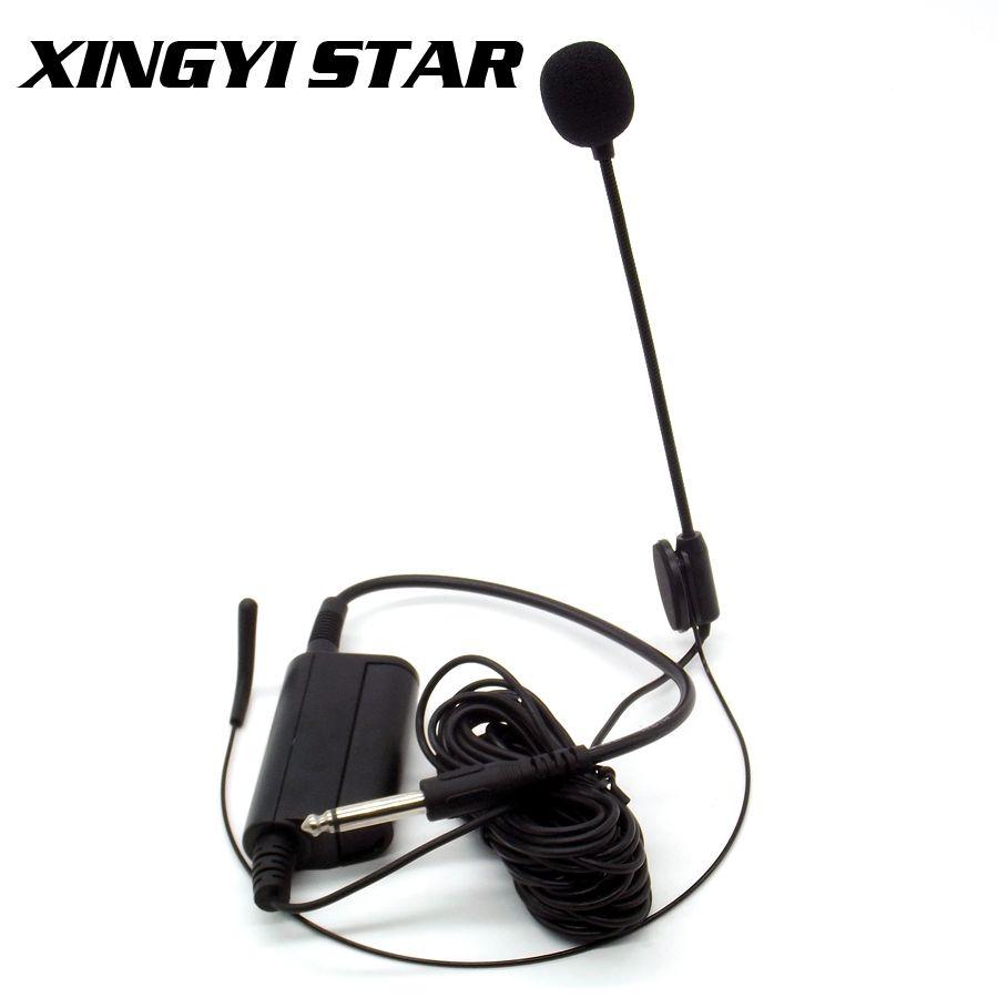 Instruments de musique professionnels casque à condensateur casque Microphone tête bandeau micro pour guitare discours tambour Piano Saxophone