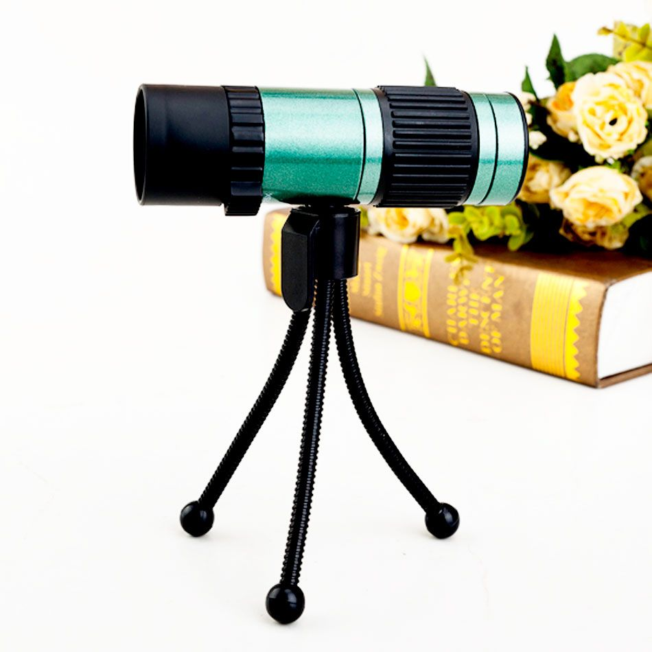 Télescope monoculaire de vision nocturne Boshile 15-75x25 zoom hd monoculaires à vendre football de poche de haute qualité avec trépied