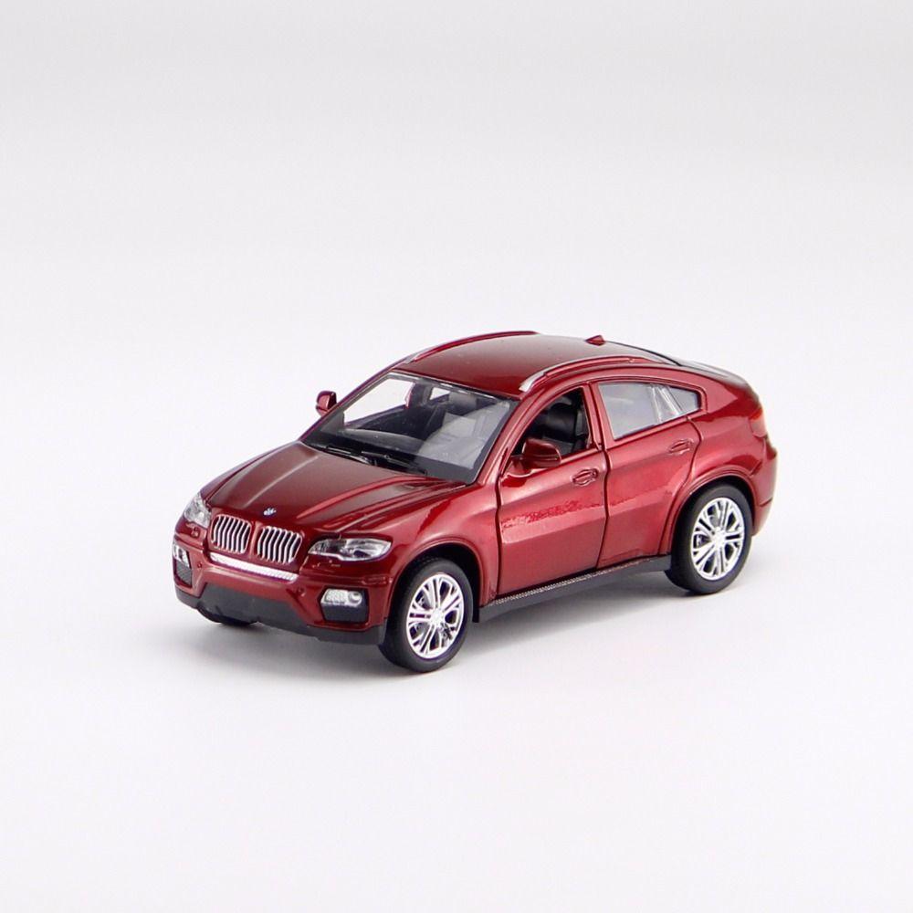 X6 (E71) литья под давлением сплава игрушечную машинку 1:32 Модель Вытяните назад автомобиль металлические модель автомобиля Игрушечные лошадк...