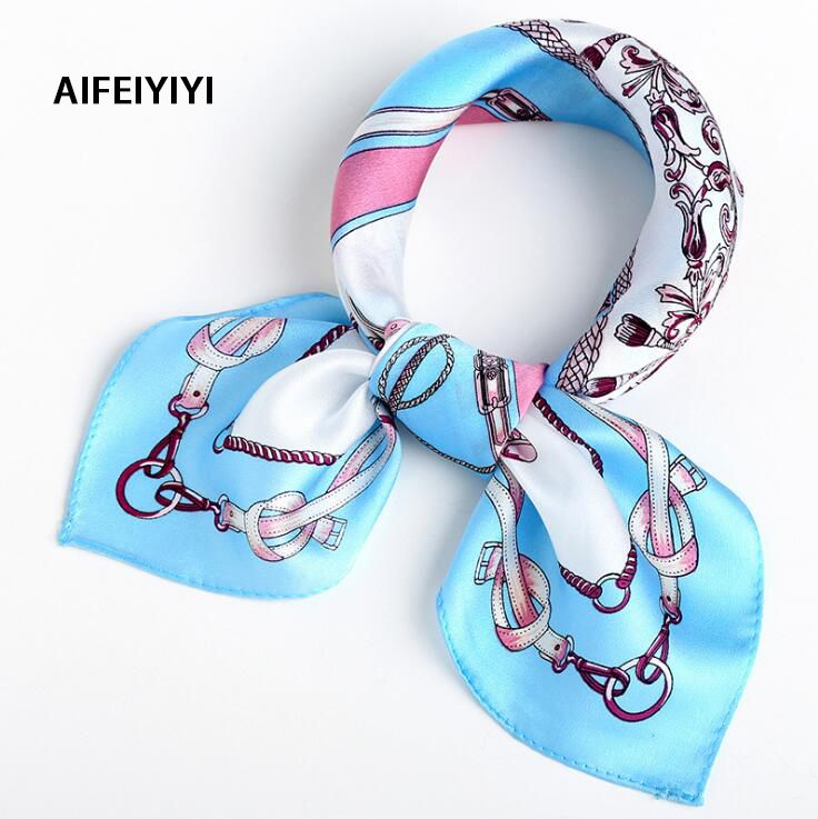 2018 Spring Professional <font><b>Occasion</b></font> Silk Squash Mulberry Scarf Joker Small Scarf