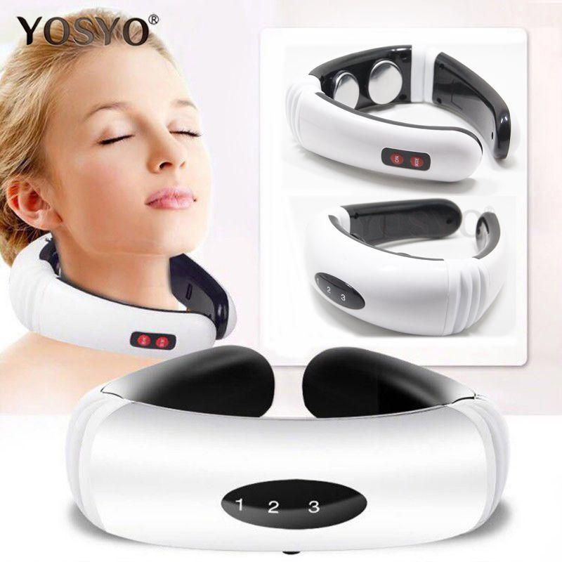 Impulsion électrique Dos et le Cou Masseur Infrarouge Lointain Chauffage Pain Relief Outil Soins de Santé Relaxation