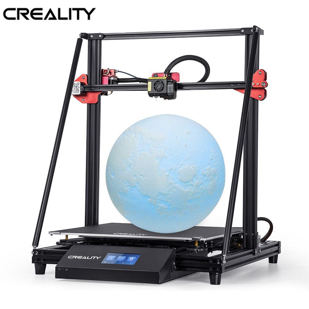 CREALITY 3D CR-10 MAX Große Druck Größe 4.3inchTouch-Bildschirm Doppel Power Mit Lebenslauf Print Filament Erkennung