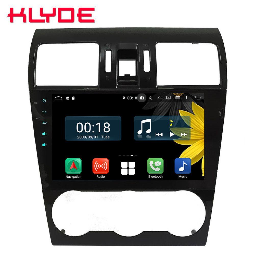 9 IPS Octa Core 4G Android 9.0 4 GB RAM 64 GB ROM RDS Auto DVD Player Radio GPS glonass Navi Für Subaru Forester XV WRX 2013-2018