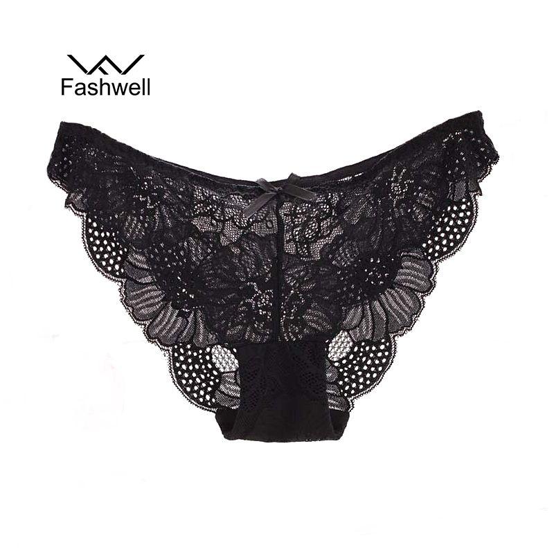 Grande taille mode solide femmes culottes transparentes sous-vêtements femmes dentelle doux slips Sexy Lingerie
