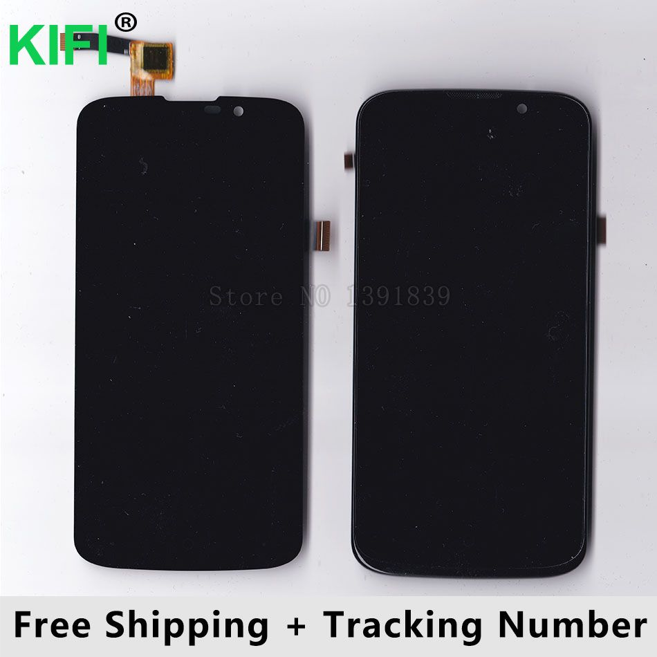 KIFI 100% QC PASS LCD Display + Touch Screen Digitizer Glass Panel For Highscreen Omega Prime mini SE