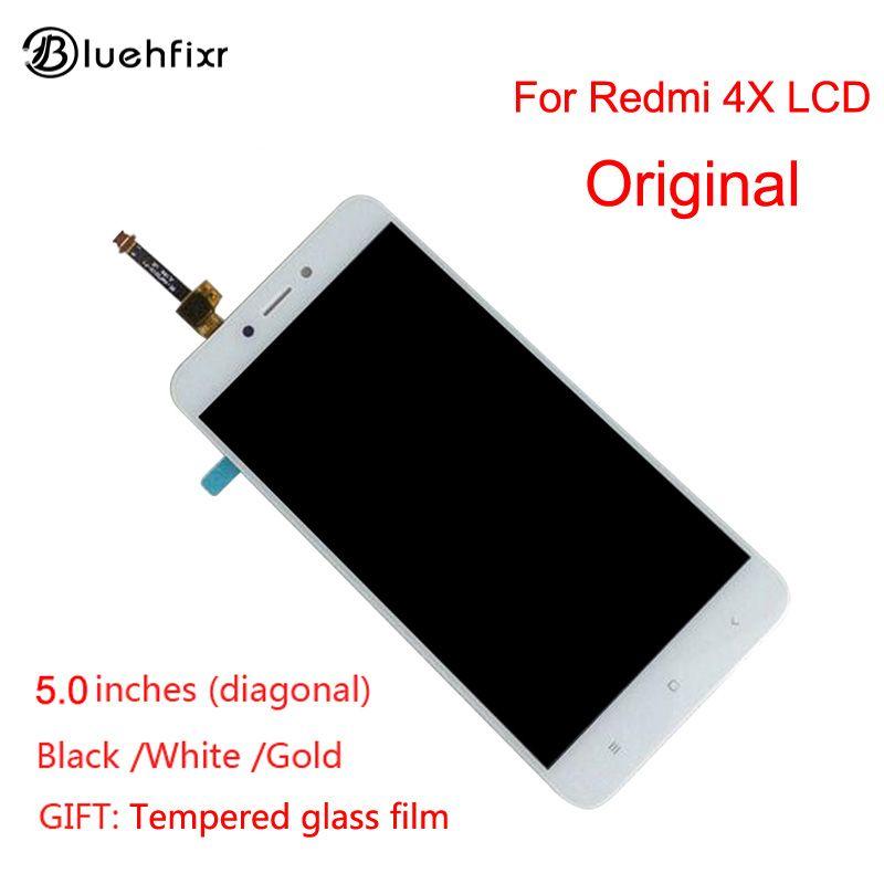 Original pour Xiaomi Redmi 4X LCD Affichage Écran Tactile Bon Test Digitizer Assemblée Remplacement Pour Xiaomi Redmi 4X5.0 pouces