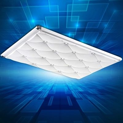 Led ceiling light modern brief ultra-thin living room lights rectangle lamp remote control bedroom lamp fashion ceiling light