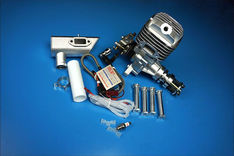 Original New DLE55 55cc DLE Single Cylinder 2-Strokes Gasoline / Petrol Engine for RC Airplane