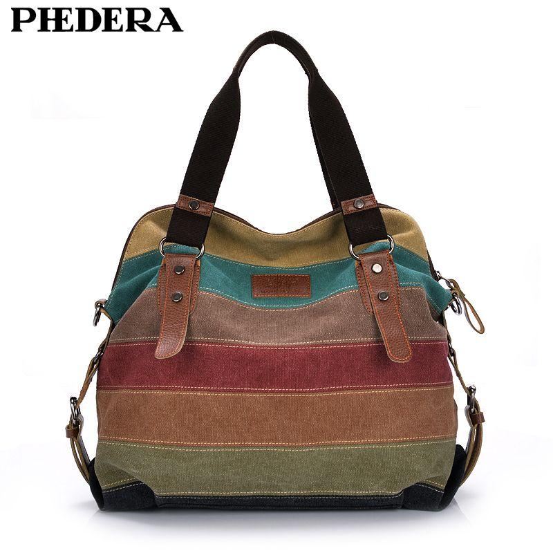 Fashion Canvas Bag Brand Women Handbags Patchwork Casual Women Shoulder Bags Female <font><b>Messenger</b></font> Bag Ladies 2017 Autumn Purse Pouch