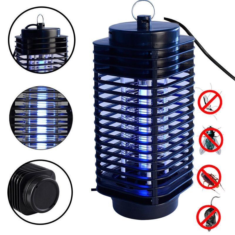 Electronics Mosquito Killer Lamps Fly Bug Insect Killer Control With Trap Lights EU US Plug Led Night Lamp Killing Pest For Home