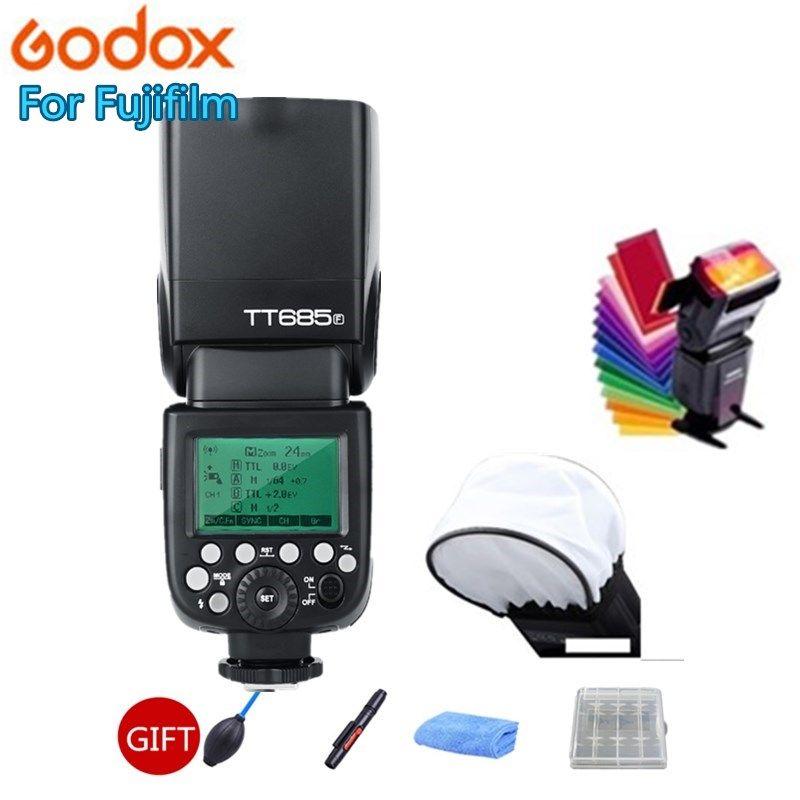 Godox TT685 TT685F 2,4g Wireless HSS 1/8000 s TTL Flash Speedlite für Fujifilm X-Pro2 X-Pro1 X-T10 X-T20 x-T2 X-T1 X100F X100