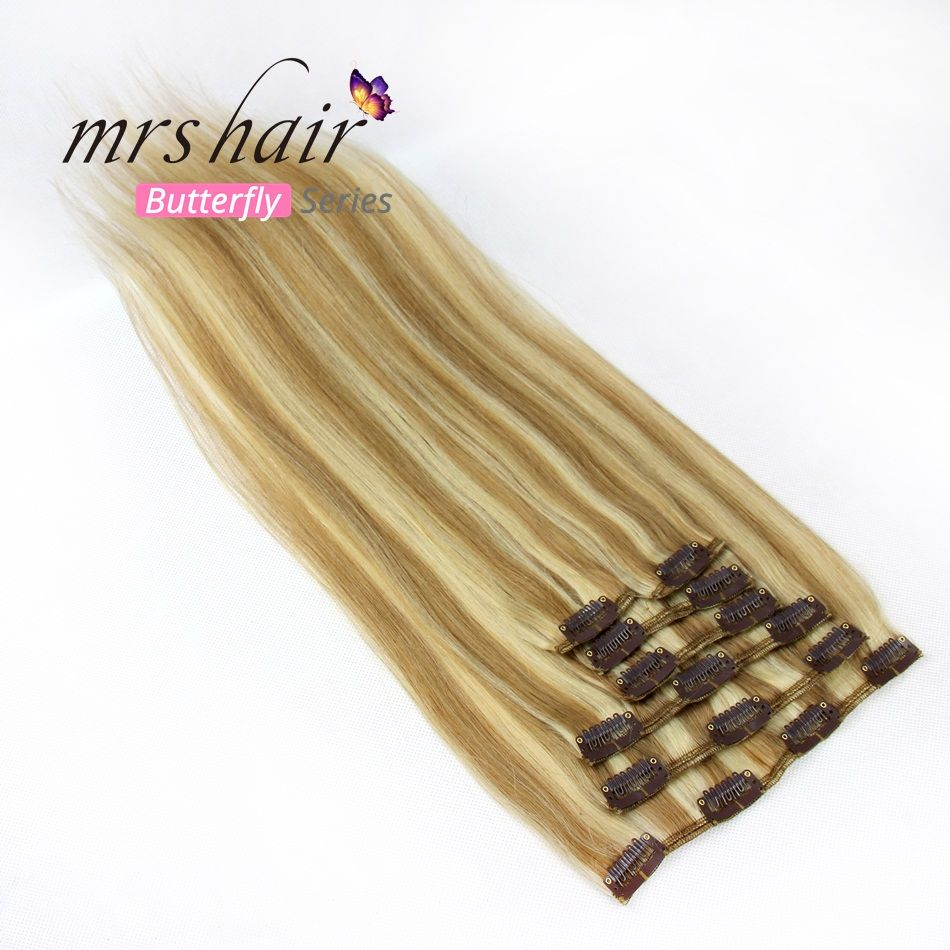 MRS HAIR Clip In Hair Extensions 16