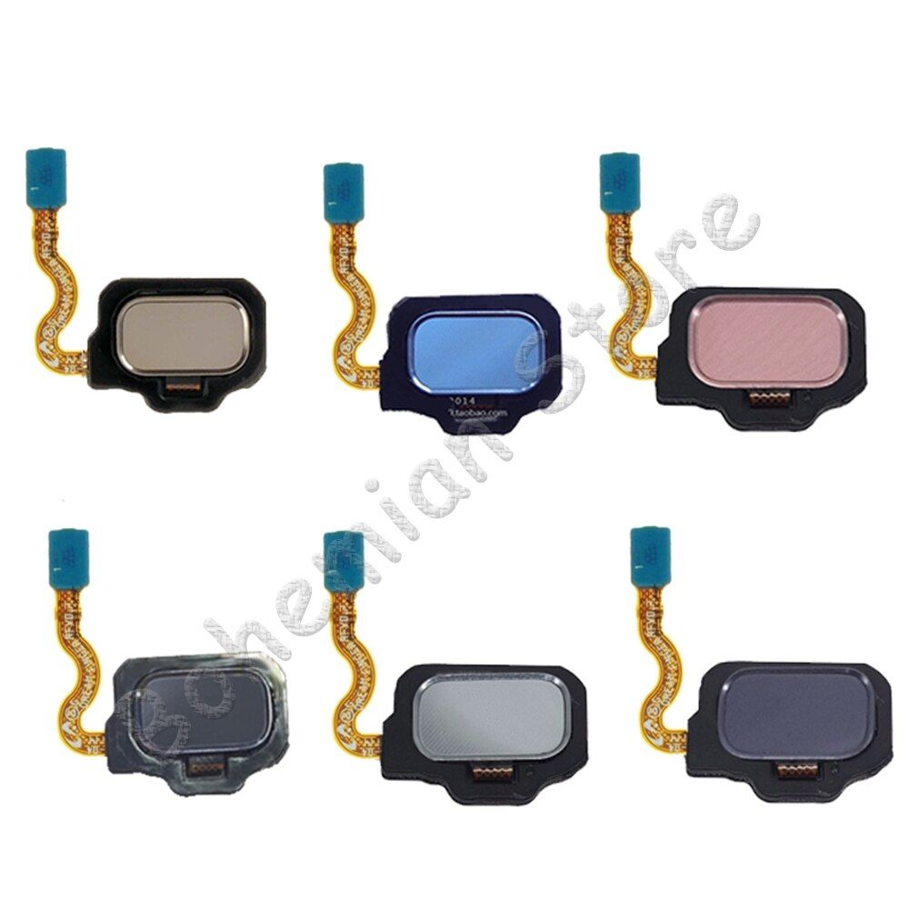 Touch ID Home for Samsung Galaxy S8 Plus G955 G955F S8 G950 G950f Back Home Button Fingerprint Sensor Flex Cable