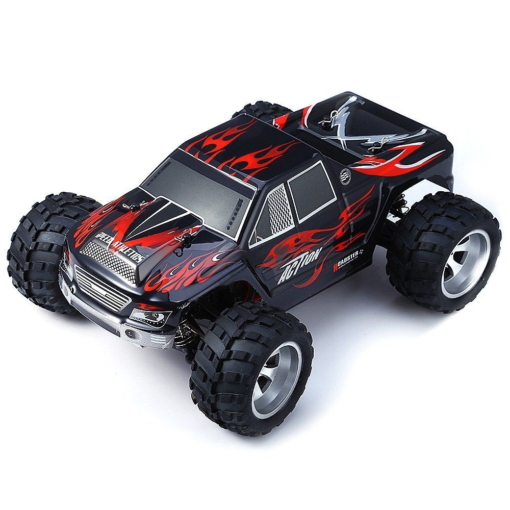 Remote Control Car Wltoys A979 Radio-controlled Cars High Speed 50KM/H 1:18 Electric 2.4 GHz 4WD Monster Radio-controlled Cars