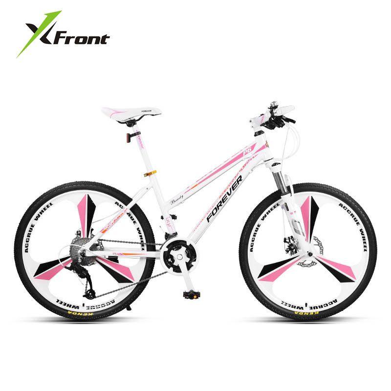 Neue Marke dame Mountainbike Aluminiumlegierung Rahmen 24/26 27 Gang-doppelscheibenbremse Frauen Fahrrad Outdoor Bicicleta