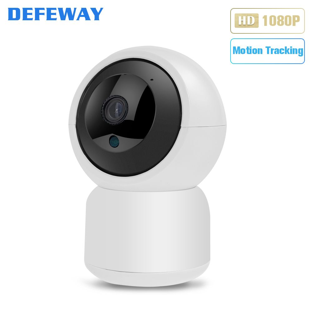 Defeway IP Kamera Zwei-weg Audio Wifi IP Kamera 1080 P 350 Grad Auto Tracking Hause Kamera Mini Wireless sicherheit Wifi Kamera