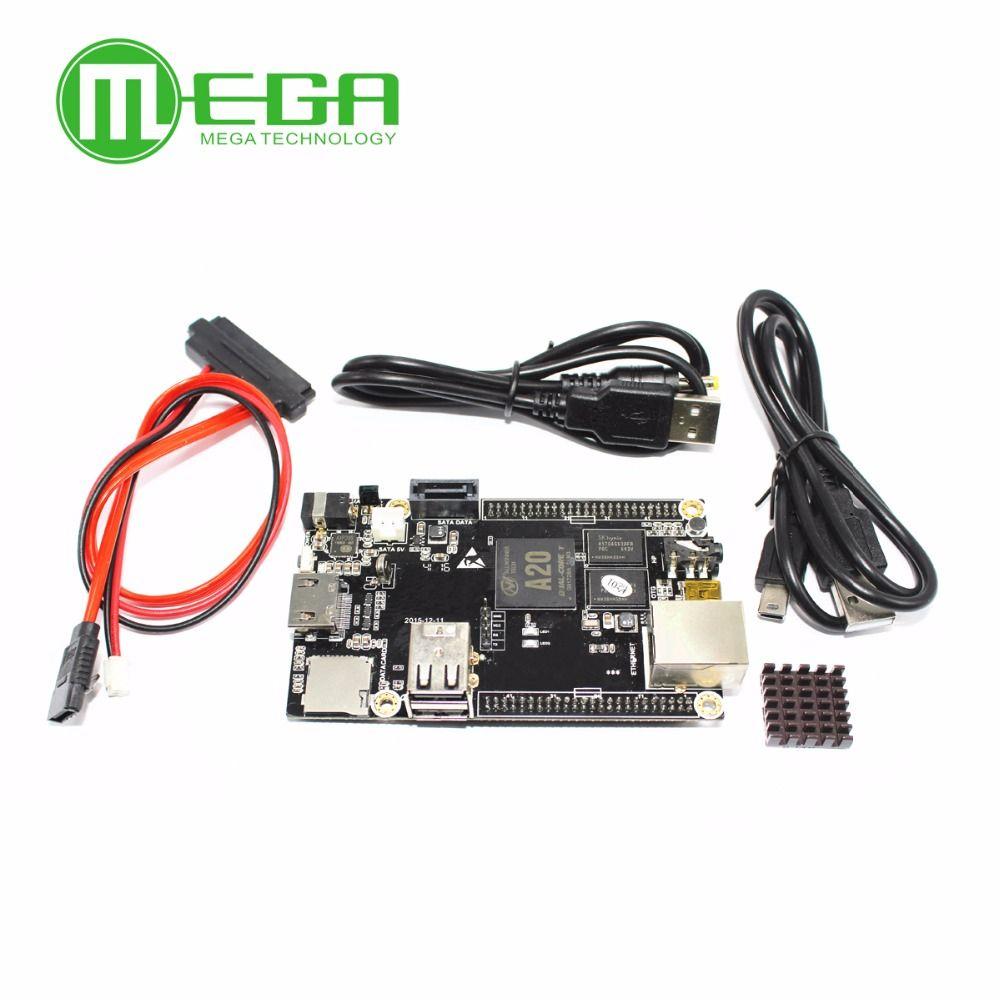1pcs PC Cubieboard A20 Dual-core Development Board , Cubieboard2 dual core with 4GB Nand Flash