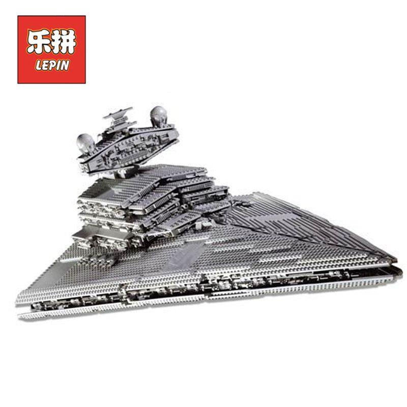 DHL Lepin 05027 3250Pcs Star Wars Figures Imperial Star Destroyer Set Model Building Kits Blocks Bricks Boy Toy Compatible 10030