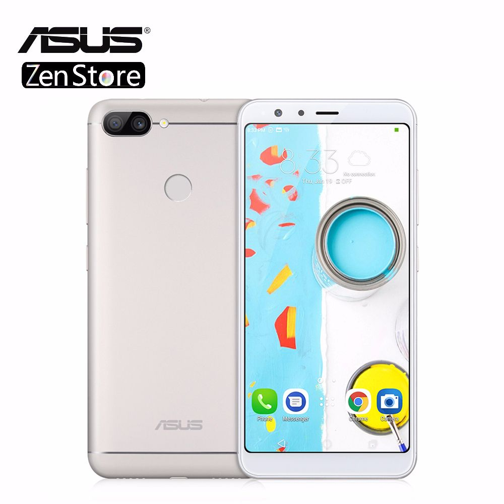 Asus Zenfone Pegasus 4S Max Plus (M1) X018DC ZB570TL 5.7 inch 18:9 Full Screen 4GB 32GB Octa Core Android7.0 4130mAh Telephone