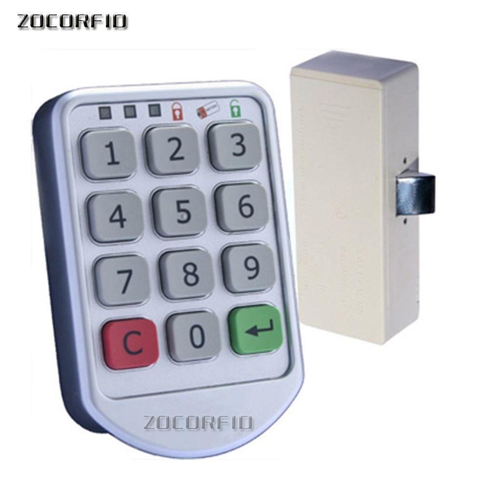 Livraison gratuite BRICOLAGE Électronique mot de passe clavier casier numérique cabinet lock pour bureau hôtel maison piscine