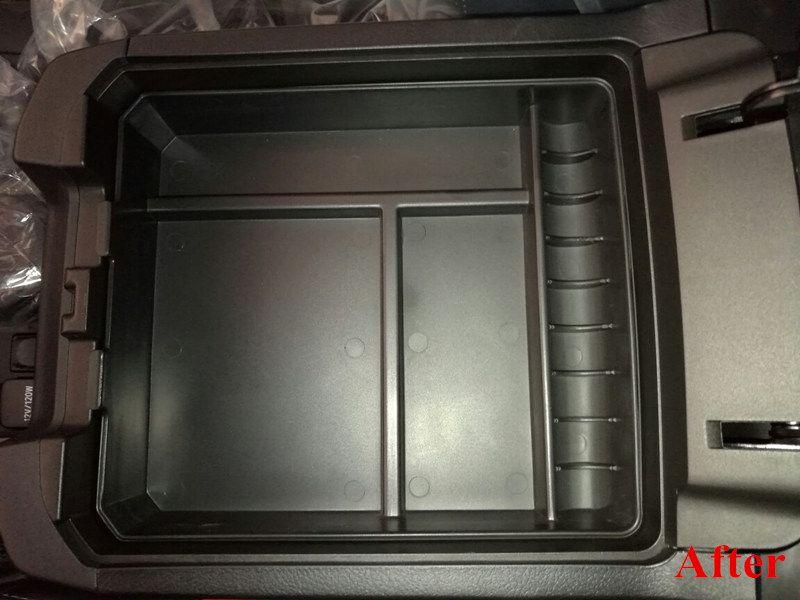 1pc Central Storage Armrest Box Container Box Organizer For Toyota Land <font><b>Cruiser</b></font> Prado FJ150 2010-2016