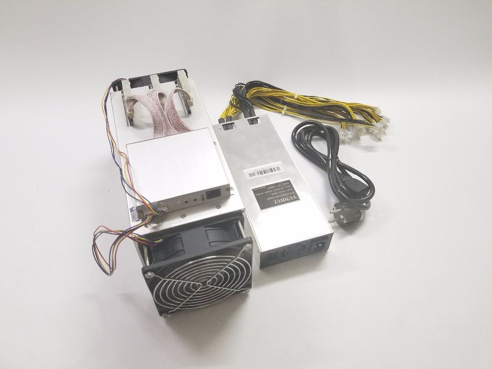 Used 14nm Asic Miner BCH BTC Miner Ebit E9 Plus 9T (with psu) better than Antminer S7 and low price than S9 good economy miner