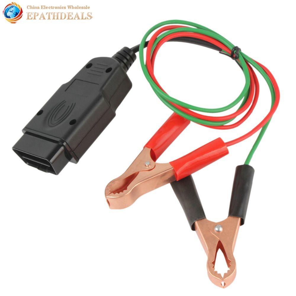 OBD2 Car Diagnostic Cable & Connectors Memory Saver 12V ECU Emergency Power Interface Auto Vehicle OBDII OBD 2 Diagnostic Tool