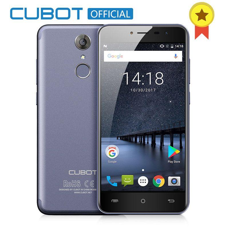 Cubot Note Plus Android 7.0 3GB RAM 32GB ROM 5.2 FHD MT6737T Quad Core Smartphone <font><b>16MP</b></font> 2800 mAh Fingerprint Cellphone