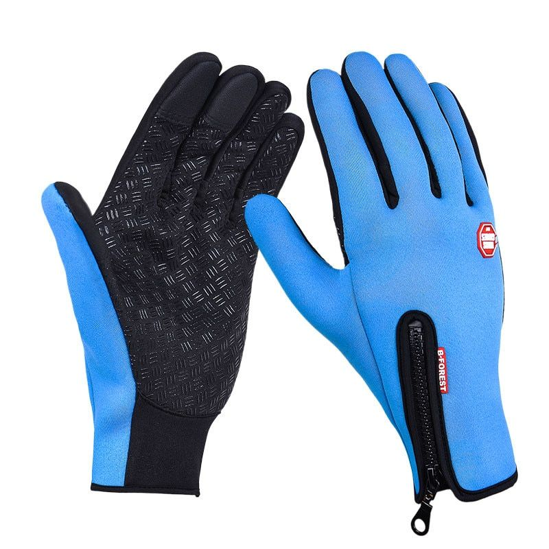 Touch Screen Cycling Gloves Waterproof Sports Bike Bicycle Gloves Breathable Anti-slip Riding Motorcycle Gloves guantes ciclismo