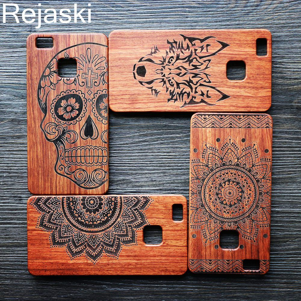 Luxury Bamboo Wood Phone Case For Huawei P9 plus P9 Lite G9 P10 Plus Mate 9 Cover Wooden Genuine PC Back Hard Protective Totem