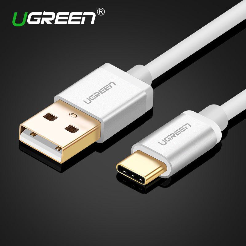 Ugreen USB Typ C Kabel Typ C Kabel für Xiaomi 4C Schnelle Ladegerät Datenkabel für Nexus 6 p 5X Oneplus 2 Huawei USB-C Ladekabel