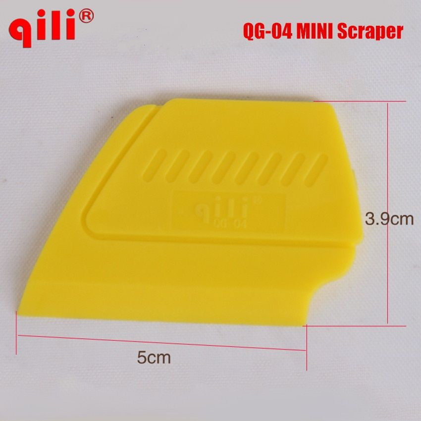 QILI QG-04 Hot Selling Mini Squeegee Mobile Screen Protector Install Tool with High Temperature Resistant Material ABS