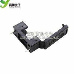10pcs 5*20mm glass fuse holder BLX-A type with cover fuse blocks 5X20mm insurance header