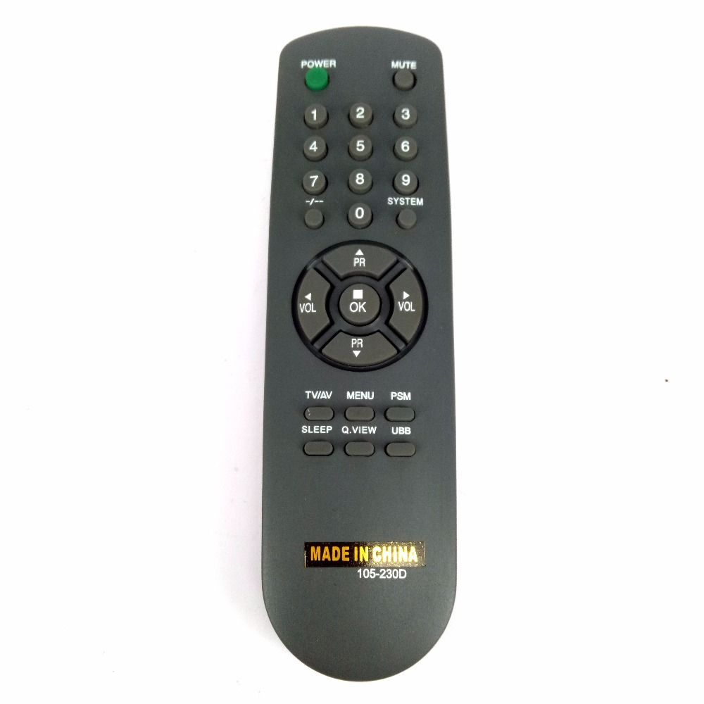 New Universal 105230M Generic For ZENITH For Goldstar 105-230D 105-230M Remote Control