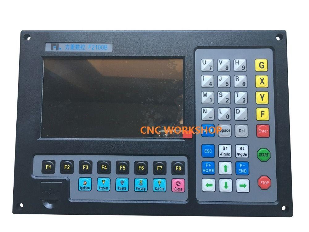 3 axis CNC controller flame plasma tube cutting plate cutting dual purpose intersecting line plasma cutter precision f2100b