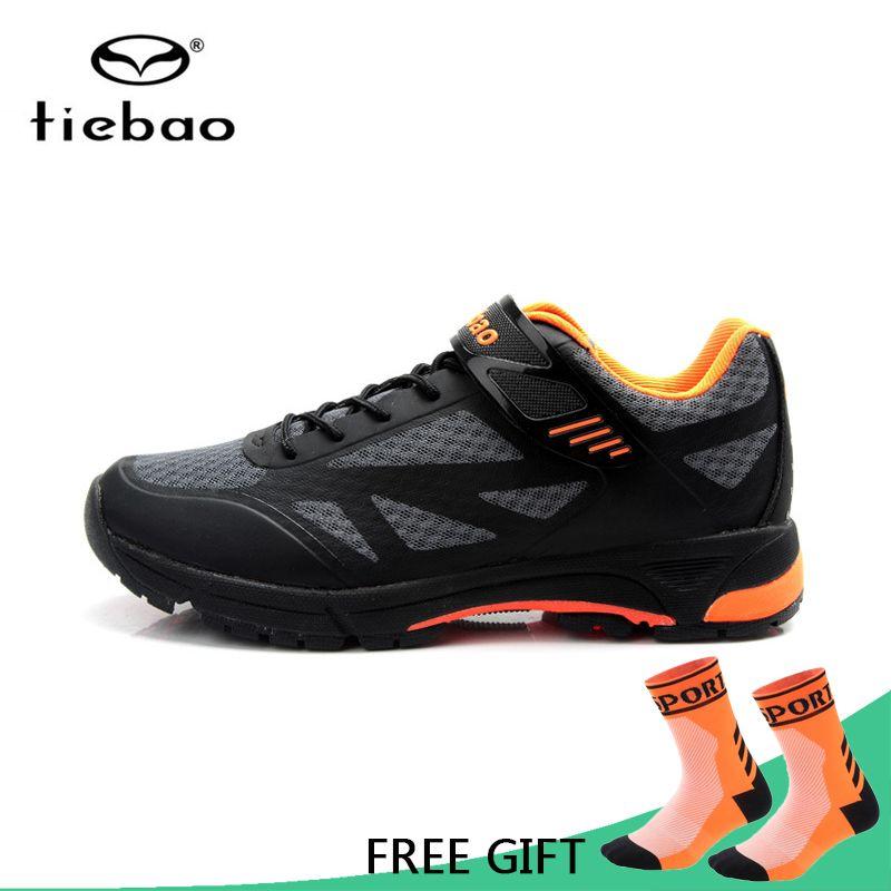 Tiebao Chaussures de Vélo Vélo Professionnelles Chaussures Auto-Verrouillage Chaussures Hommes VTT Vélo Chaussures zapatillas de ciclismo