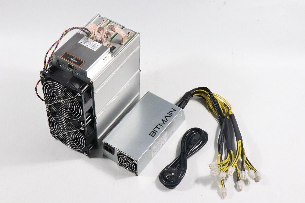 Verwendet Antminer Z9 42k Sol/s Mit BITMAIN APW3 1600W NETZTEIL Asic Equihash Miner Besser Als Innosilicon a9 Z9 Mini, ZEC ZEN Miner