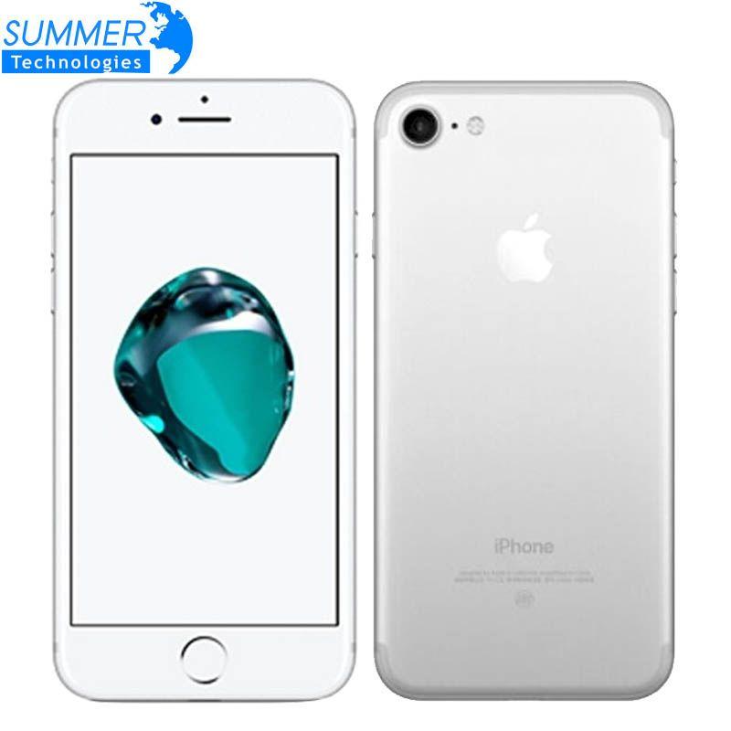 Original Apple iPhone 7 Mobile Phone 2GB RAM 32/128GB/256GB ROM IOS 10 <font><b>Quad</b></font>-Core 4G LTE 12.0MP Fingerprint touch ID Smartphone