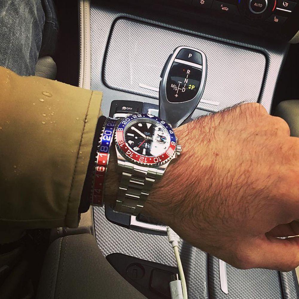 Unisexe 316l acier inoxydable compteur de vitesse Bracelet hommes titane amoureux à la mode cadran compteur de vitesse bracelets pour femmes BCB-0122