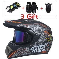 Alta calidad motocicleta protección casco capacete motocicleta para las mujeres y los hombres off road motocross cascos DOT aprobado