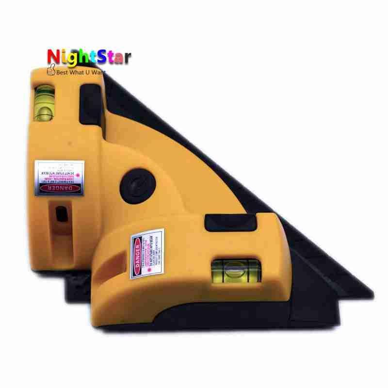 Ángulo recto 90 grados cuadrados de Alta Calidad Nivel láser herramienta de medición láser nivel láser herramienta de medición