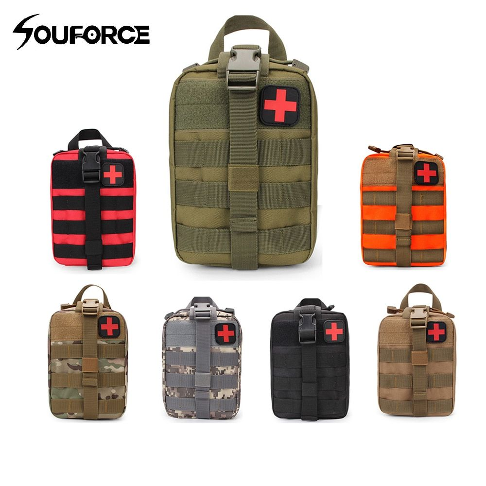 Tactical Medical First Aid Kit Bag Outdoor Emergency Military Package Medical Molle Outdoor First Aid Kit Travel Hunting Utility