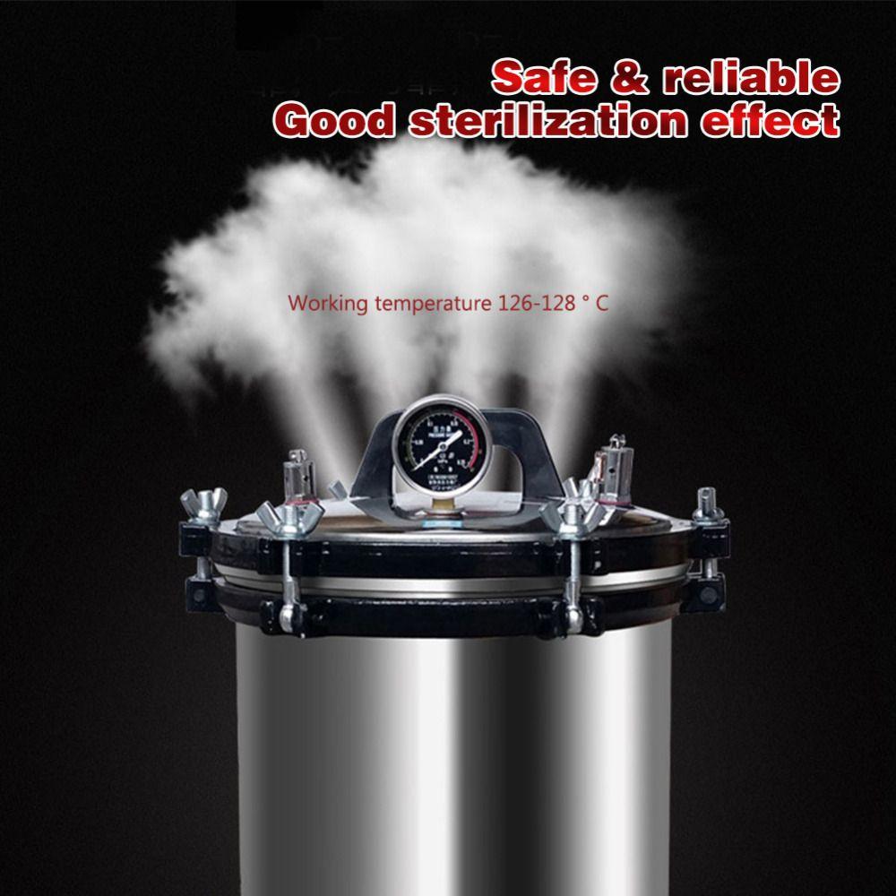 18L XFS-280A Tragbare Edelstahl Heizung Autoklaven Hochdruck Sterilisator