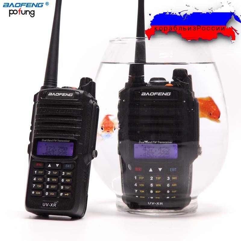 Baofeng UV-XR 10W Powerful cb Radio set IP67 Waterproof  Walkie Talkie 10KM Long Range Two Way Radio Ship From Russia&China
