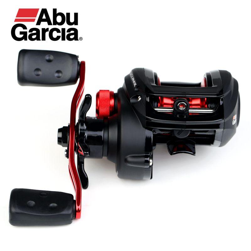Abu Garcia Black Max3 BMAX3 Right Left Hand Bait Casting Fishing Reel 4+1BB 6.4:1 8KG Max Drag Drum Trolling Baitcasting Reel