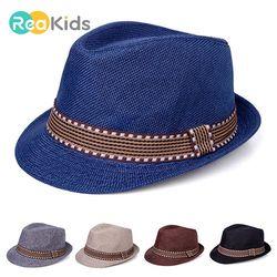 Reakids Bayi untuk Anak Laki-laki Anak Topi Perempuan Musim Panas Topi Balita Bayi Topi Matahari Kolam Bayi Gadis/Anak Laki-laki Hat jazz Topi untuk Bayi